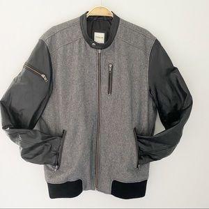Premium by Jack & Jones Gray/Black Men's Jacket